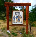 Dayville, Oregon Welcome Sign (37146635933).jpg
