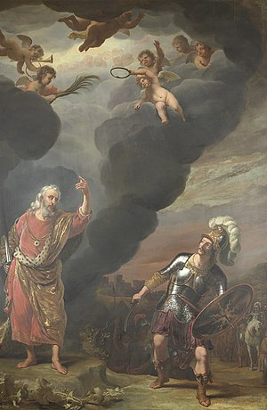 The Captain of God's Army Appearing to Joshua