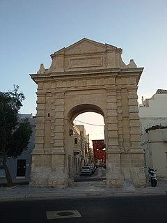 De Rohan Arch Commemorative arch in Żebbuġ, Malta