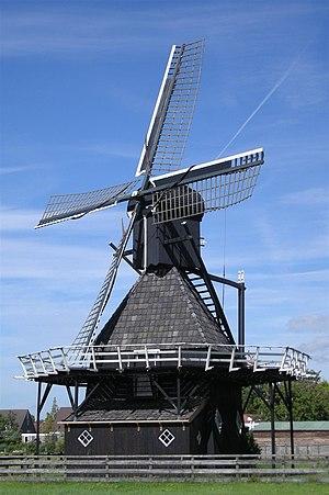 Koudum - Image: De Vlijt molen Koudum 03