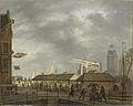 De kleine vismarkt op de hoek van de Brouwersgracht en het Singel te Amsterdam Rijksmuseum SK-A-1053.jpeg