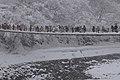 Deai-bashi Bridge in Winter, Shirakawa-go 2015.jpg