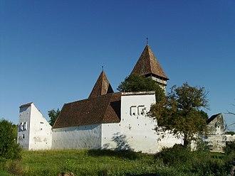 Merghindeal - Image: Dealu Frumos Fortified Church I