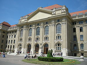 University of Debrecen - Image: Debrecen DSCN3583