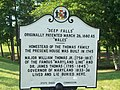 Deep Falls Marker Jul 09.JPG