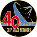 Deep space network 40th logo.PNG