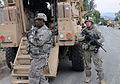 Defense.gov News Photo 100825-A-0846W-168 - U.S. Army Cpl. Mark D. Jennings left and Spc. Ryan A. Quattlebaum both team leaders with 1st Platoon Baker Company 2nd Battalion 327th Infantry.jpg