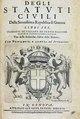 Degli statuti ciuili, 1613 - 184.tif