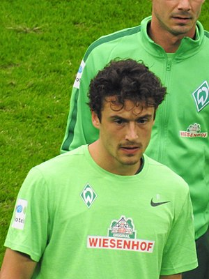 Thomas Delaney - Delaney training with Werder Bremen in 2017
