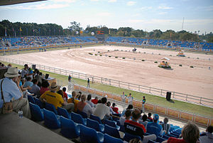 Equestrian at the 2016 Summer Olympics - National Equestrian Center will host the equestrian events.