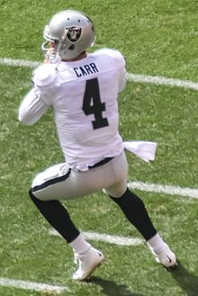 new product 5a444 838d4 Derek Carr - Wikipedia
