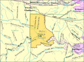 Detailed map of Neffs, Ohio.png