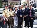 Deutsche Polizei bei der Steuben Parade - panoramio.jpg