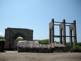 Dhanushkodi - Remains of Dhanushkodi railway station