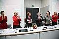 Die Bundesversammlung hat Gauck zum Prsädienten gewählt, Beate Klarsfeld erhielt 126 Stimmen - drei mehr, als DIE LINKE Mandate hatte (6849790684).jpg