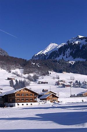Winter in Vorarlberg, Austria