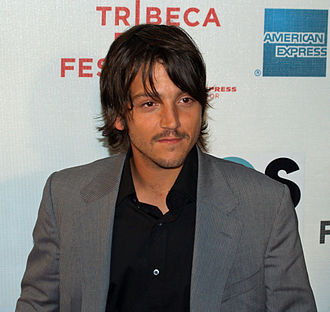 Diego Luna - Luna at the 2007 Tribeca Film Festival.