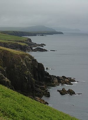 From Dingle Peninsula, Ireland