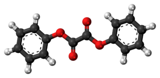 Diphenyl oxalate - Image: Diphenyl oxalate 3D ball