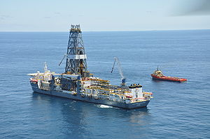 The Transocean drill vessel, Discoverer Clear ...