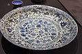 Dish with blue and white decoration - Iran, Nayin - 1795-1797 - Brussels, Hassan Mohazzab collection.jpg