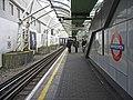 District Line Platform, Hammersmith Underground Station, London - geograph.org.uk - 1169442.jpg