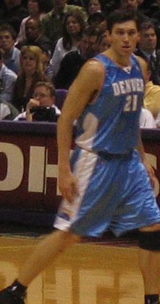 Eduardo Nájera - Najera with the Denver Nuggets