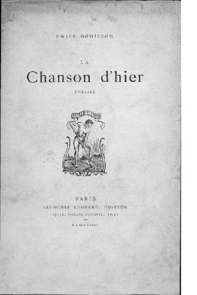 File:Dodillon - La Chanson d'hier, 1881.djvu
