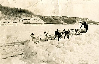 Flin Flon - Dog Sled Race (1954)