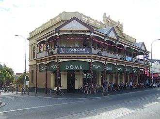 Dôme (coffeehouse) - A Dôme cafe in Fremantle