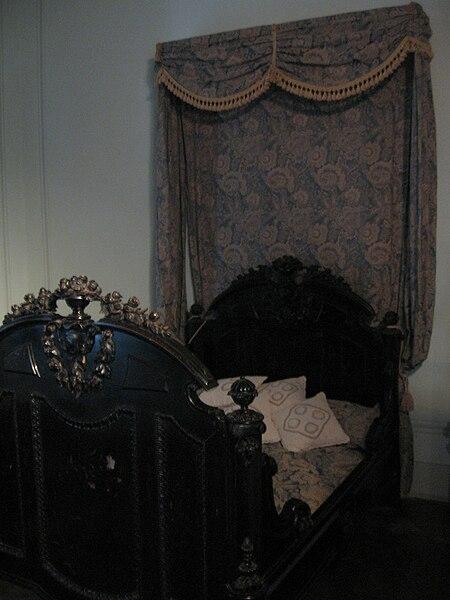 File:Dormitorio de Sarmiento en San José.JPG