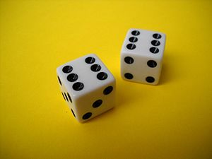 Boxcars (slang) - Two dice, showing two sixes, or boxcars