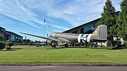 Douglas C-47A Skytrain at the Evergreen Aviation & Space Museum 1.jpg