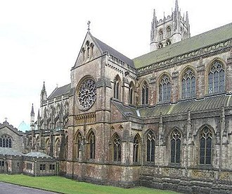 Downside Abbey - The Abbey church
