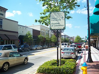 DeLand, Florida - Downtown DeLand