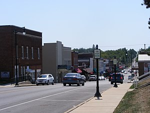 National Register of Historic Places listings in Lincoln County, Missouri - Image: Downtown Troy Historic District