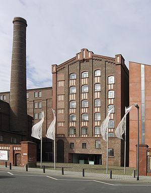 Duisburg Inner Harbour - Museum Küppersmühle in the Inner Harbor