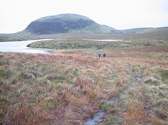 Kilpatrick Hills - Duncolm in the heart of the Kilpatrick Hills with Lily Loch at its foot