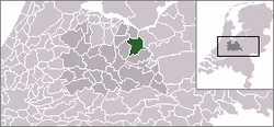 Location of Amersfoort