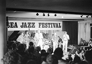 Dutch Swing College Band - The Dutch Swing College Band performing at the North Sea Jazz Festival in 1976 or 1979.
