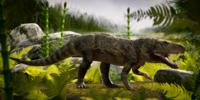Dynamosuchus Castro life restoration.png