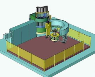 Open-pool Australian lightwater reactor - Engineering drawing of the ECHIDNA High-Resolution Powder Diffractometer (August 2003)