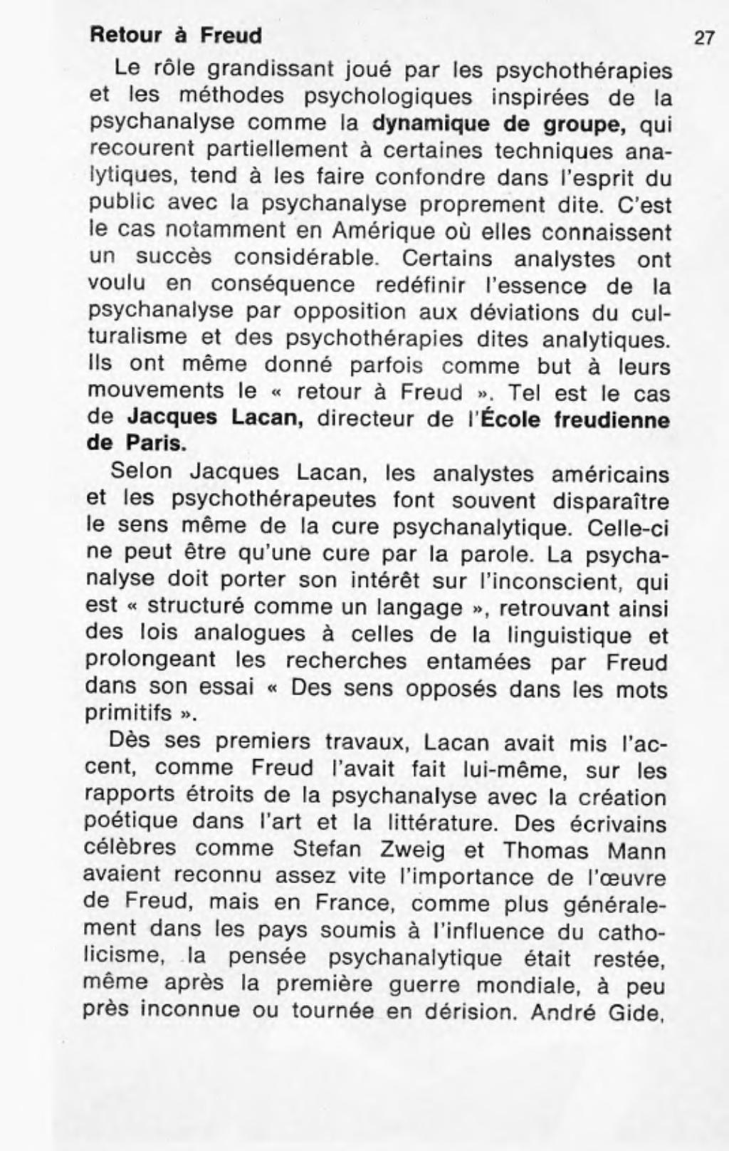 Page edma la psychanalyse le livre de poche - La chambre des officiers analyse du livre ...