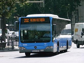 Empresa Municipal de Transportes de Madrid - An EMT Citaro.
