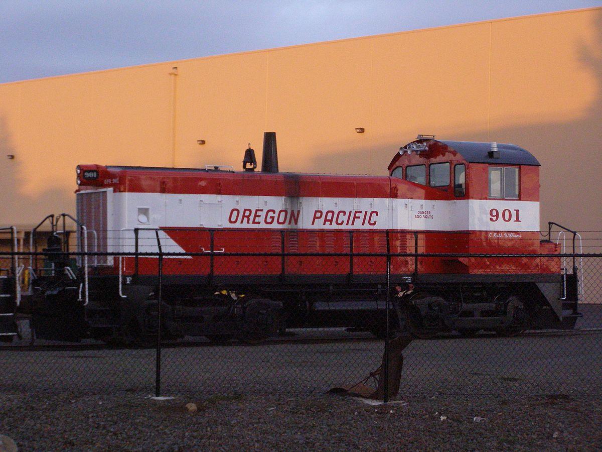 Oregon Pacific Railroad 1997 Wikipedia