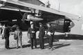 ETH-BIB-Fokker vor einem Hangar zwischen Alpen und Tunis-Nordafrikaflug 1932-LBS MH02-13-0032.tif