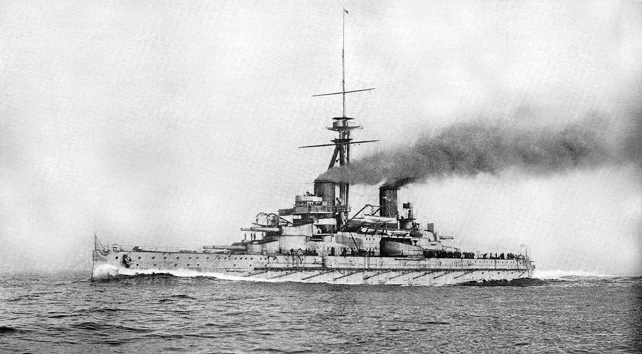 Brazilian battleship Minas Geraes