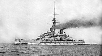 Brazilian battleship Minas Geraes - Image: E Minas Geraes 1910 altered