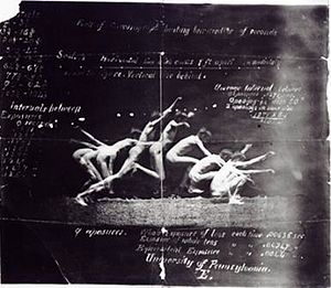 "Georges Hébert - Photo: ""history of a jump"" 1885"