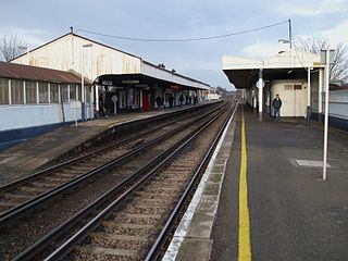 South Western Railway Station in Outer London (Zone 3)